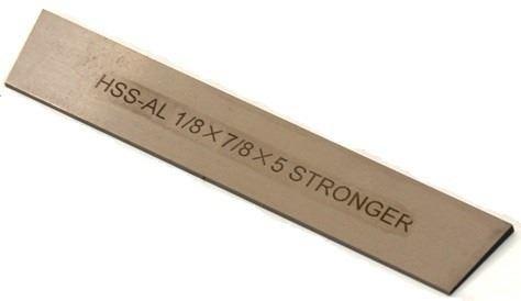 cuchilla de corte para torno 7/8  x 1/8 x 5 pulgad. stronger