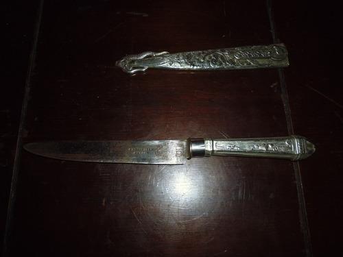 cuchillo alpaca christofle paris