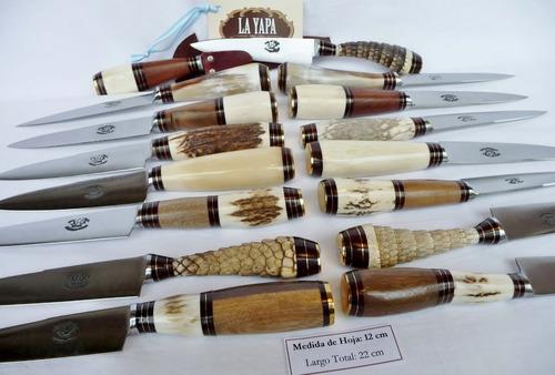 cuchillo artesanal argentino. hoja 12 cm - tradición criolla