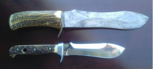 cuchillo caza mayor buck, puma white hunter (leer aviso!!)