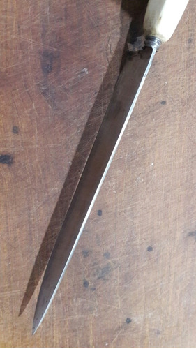 cuchillo criollo artesanal 25cm de hoja