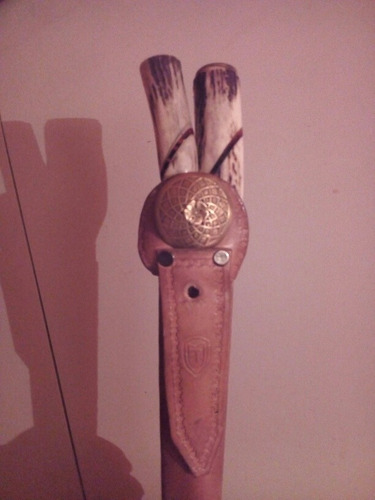 cuchillo criollo con chaira y vaina marcionil trindade