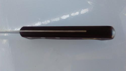 cuchillo jamonero cabo de madera,