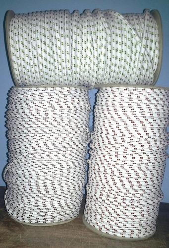 cuerda para lona camping 4 mm.  nautica - por metro.