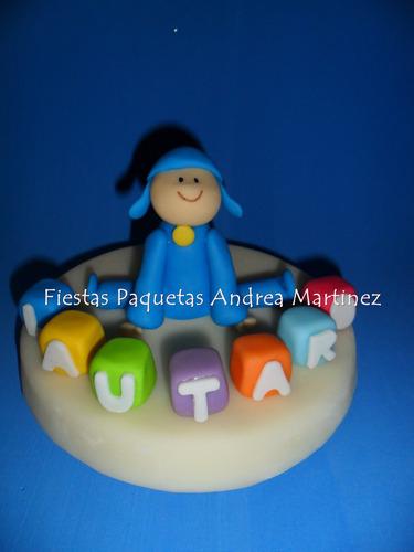 cumple tematico!!! pocoyo ideal para mesa de la torta