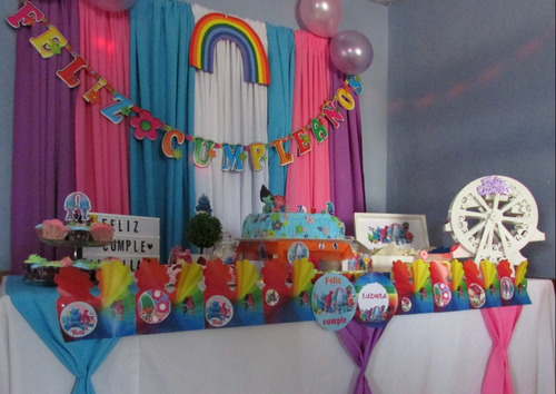 cumpleaños mesa dulces infantiles candy bar 15 casamientos