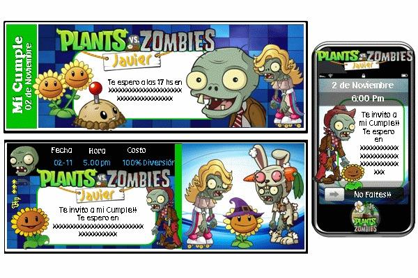 Cumpleaños Temático De Plants Vs Zombies