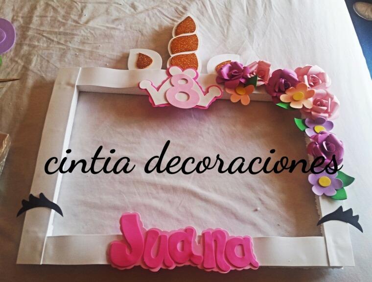 Cumpleanos Unicornio 380 00 En Mercado Libre