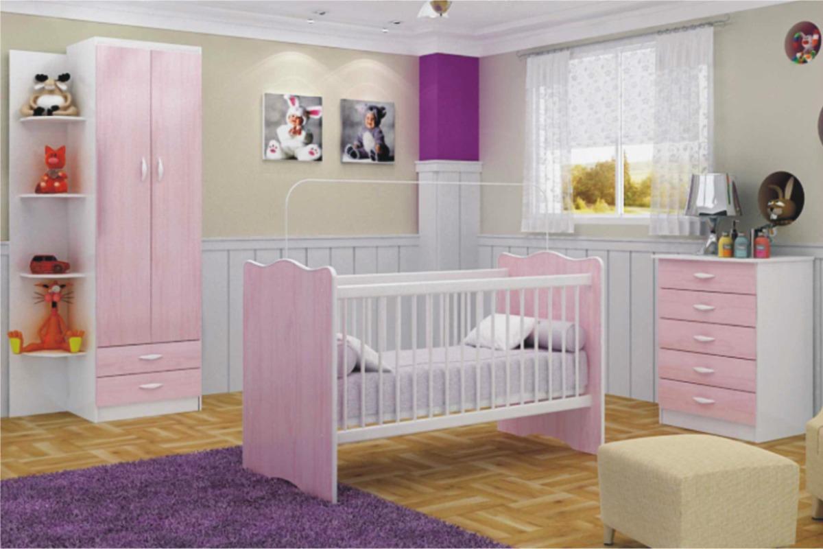 Cuna comoda ropero rieles metalicos mobelstore original for Articulos decoracion habitacion bebe