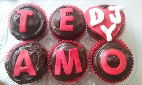 cupcakes, muffins, magdalenas san valentin