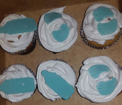 cupcakes - muffins - para baby shower