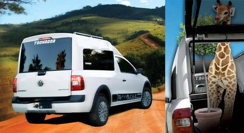 cúpula alta tronador volkswagen saveiro 2010 cabina sencilla