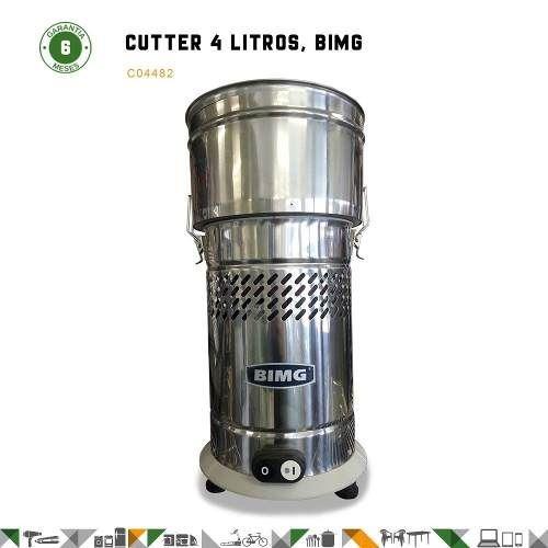 cutter cortador triturador comercial bimg 4 lts - fama