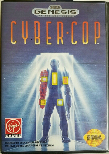 cybercop sólo cartucho sega génesis original retro ventamvd