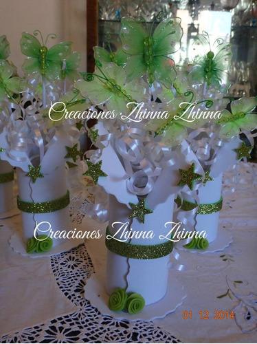 c.zhinna centro adorno 15 años bodas cotillon