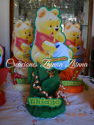 c.zhinna centros de mesa pooh