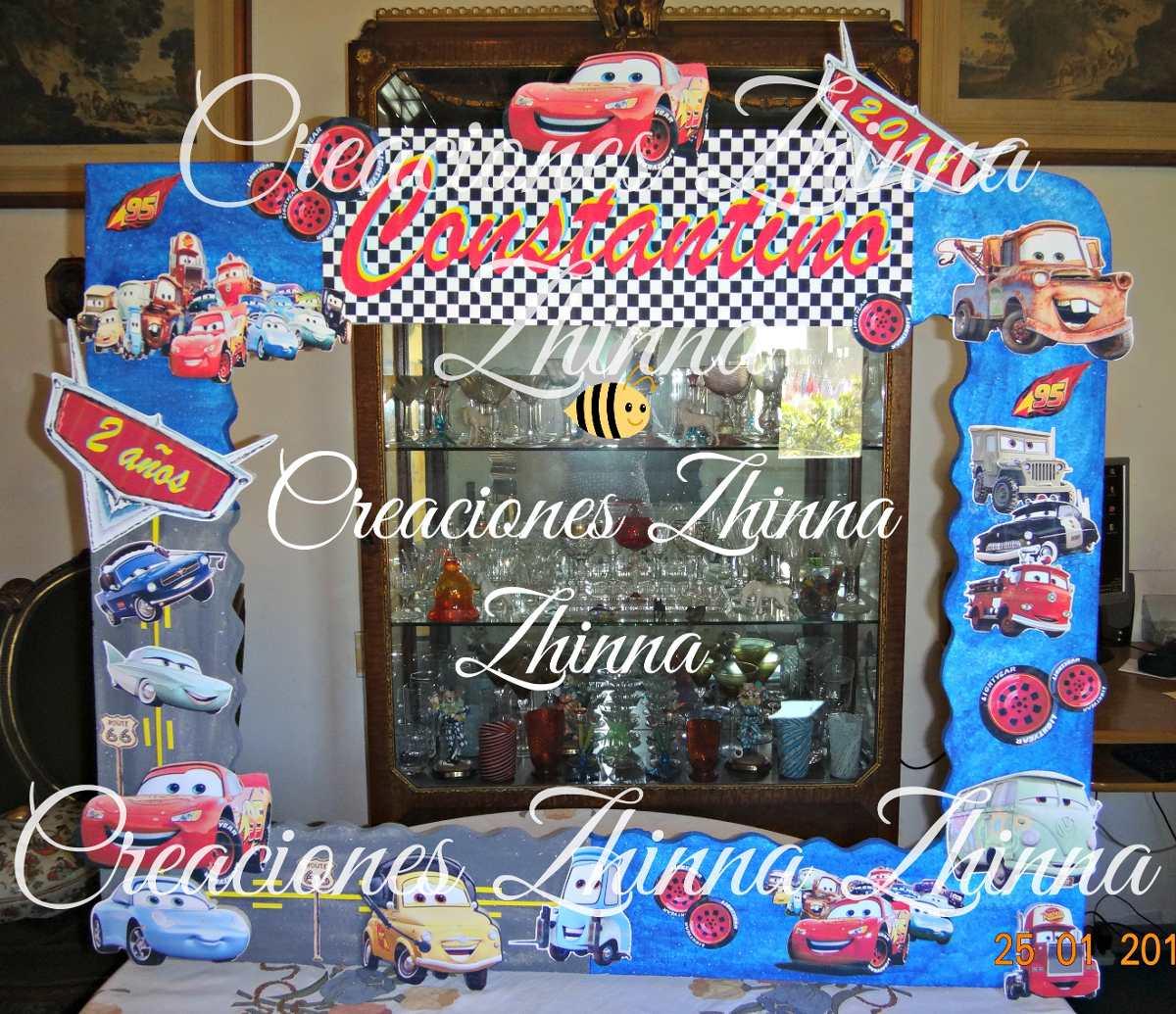 C.zhinna Marcos X Sacar Fotos Tematicos Cumples Cars Mate - $ 780,00 ...