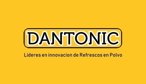 dantonic.com refrescos busca distribuidores en todo el país