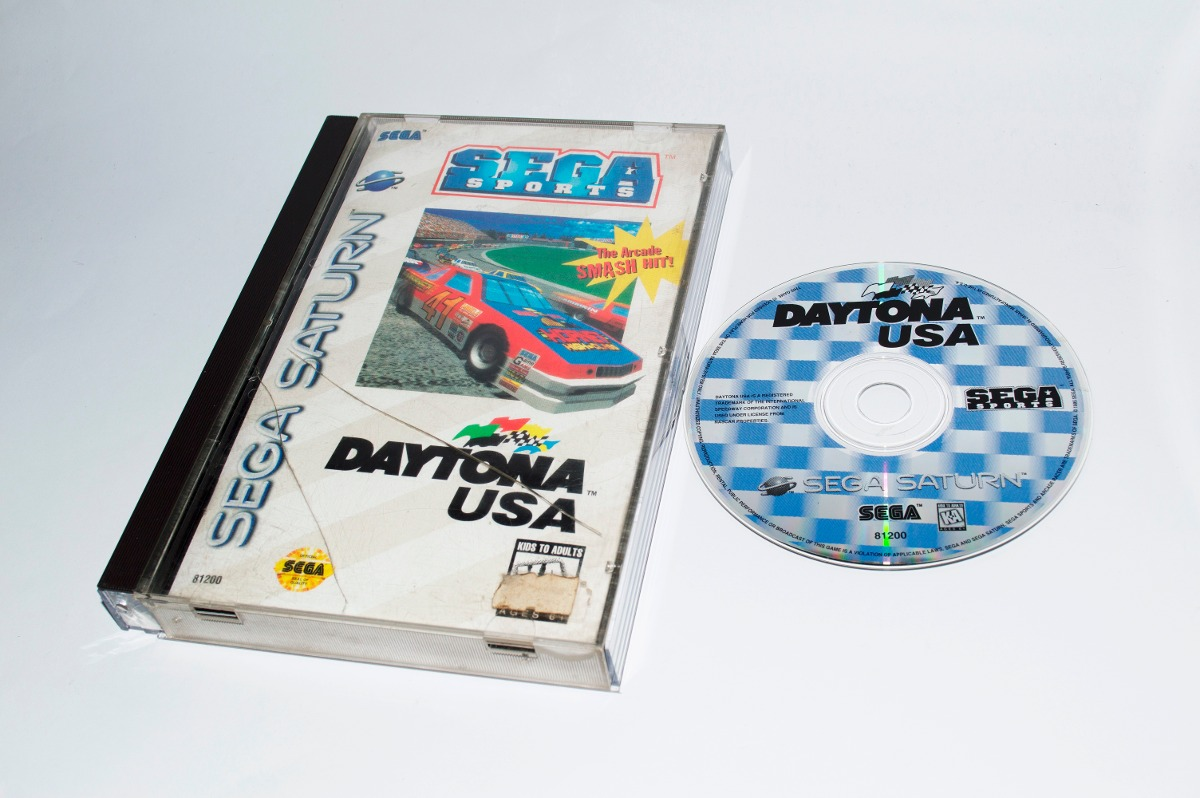 Daytona Usa Juego Original Para Sega Saturn 890 00 En Mercado