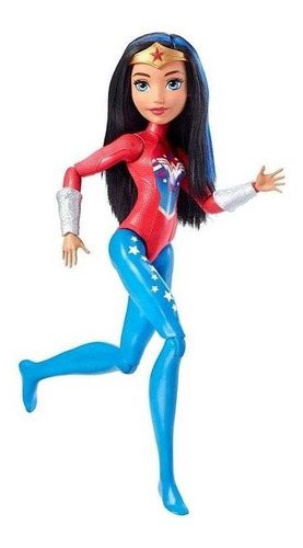 dc super hero girls muñecas gimnastas - elbunkker envio gra