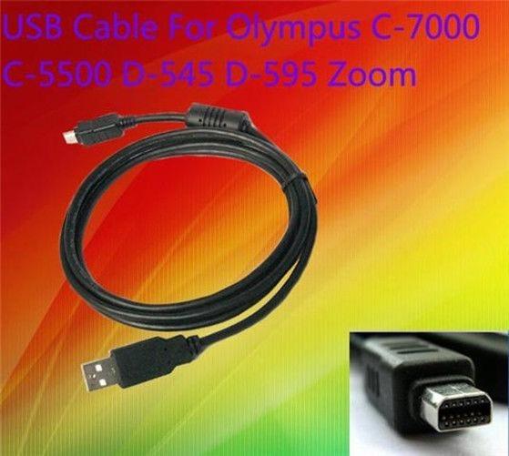 Cargador Usb De Transferencia De Datos Cable Para Cámara Olympus Stylus 850 Sw 1000 Cb-usb6