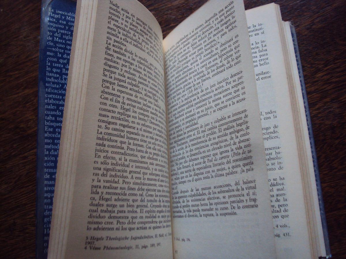 De Hegel A Marx Jacques D´hondt - $ 350,00 en Mercado Libre