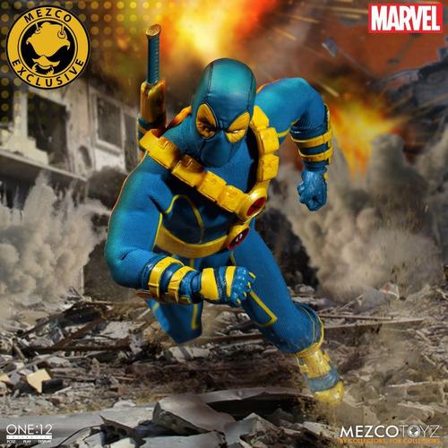 deadpool x-men exclusive marvel mezco one:12