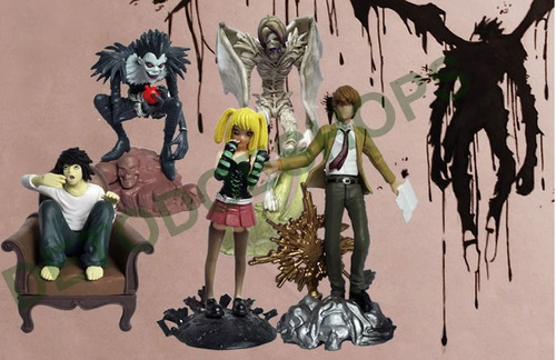 death note figuras anime por 5