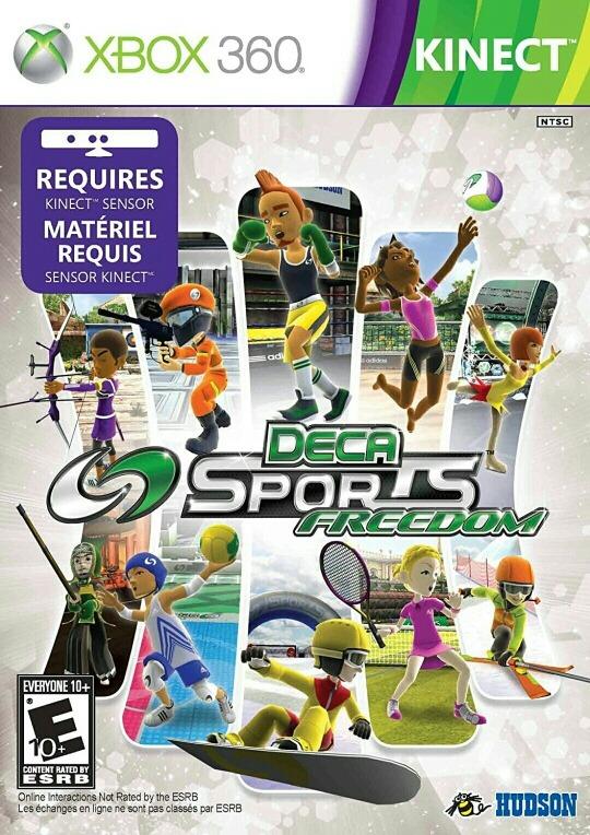 Deca Sports Freedom Kinect Xbox 360 Gtia De X Vida Reyes
