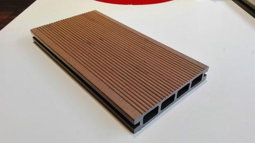 deck de madera dañado? cambie por wpc deck sin mantenimiento