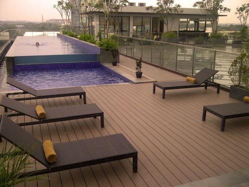 deck tablas wpc resistente a la humedad color mocca