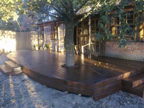 deck's,pérgolas,pisos,trabajos en madera en gral.