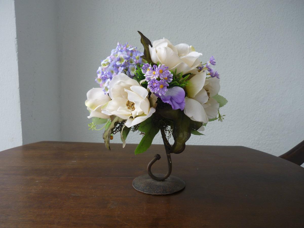 711013bae1a44 Decoracion Arreglos Florales Flores Artificial Centro Mesa -   125 ...