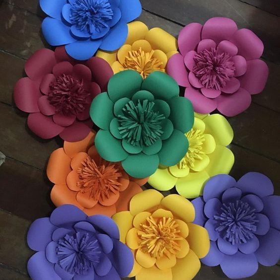 Decoracion Con Flores Cumple 15 Casamiento Bautismo 700 00