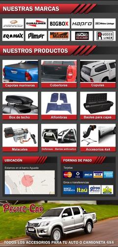 defensa negra ford ranger 98 / 2012