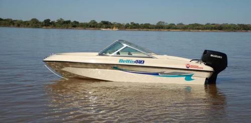 delfín 440 c/ 40hp y trailer
