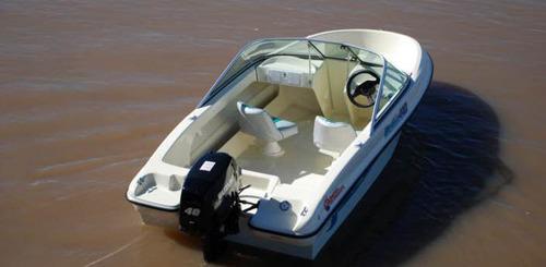 delfín 440 c/yamaha 40hp y trailer