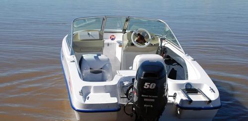 delfín 465 c/evinrude etec 60 y trailer