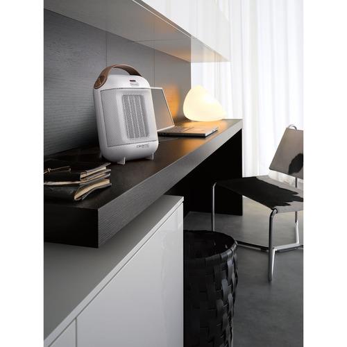 delonghi hfx30c15.w cápsula calentador de cerámica, blanc
