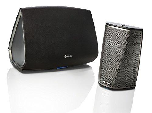 denon heos 1 + 5 wireless multiroom digital music system