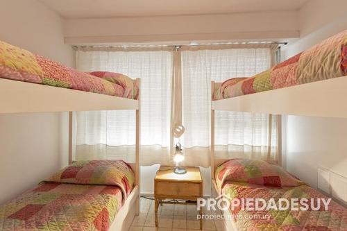 departamento en alquiler de 2 dormitorios - 2 baños en punta del este