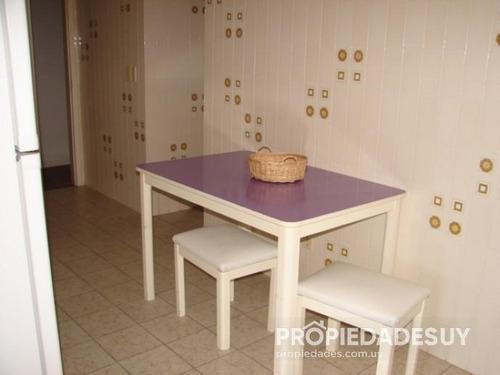 departamento en alquiler de 3 dormitorios y dep. servicio - 4 baños en punta del este