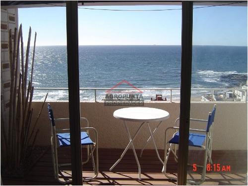departamento en península  con vista a la playa brava  - ref: 1307