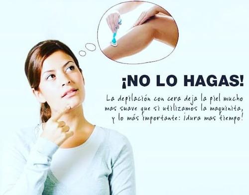 depilación cera negra sistema español