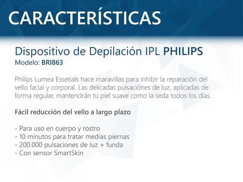 depiladora philips lumea bri863 luz pulsada lpl oferta pcm