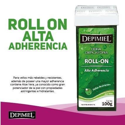 depimiel roll on sistema descartable x 24 unidades