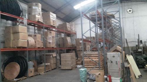deposito galpon 12 mts. alto 5 oficinas logistica local e. p