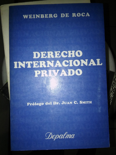 derecho internacional privado weinberg de roca