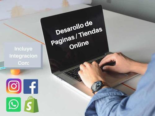 desarrollo de páginas web y tiendas online