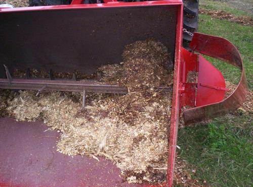 desensiladora o pala para micro picado o grano humedo